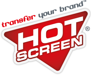 Hot screen logo